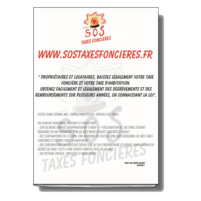 Le Livre Papier Sos Taxes Foncieres Habitation Sos Taxes Foncieres